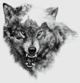 los 50 mejores tatuajes de lobos y sus significados tatuajes geniales. Black Bedroom Furniture Sets. Home Design Ideas