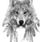 tatuajes lobos diseños 3 150x150