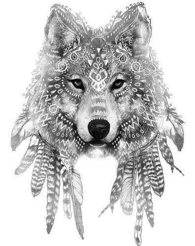 Сервый волк