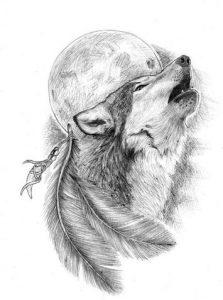 tatuajes lobos diseños 4 223x300
