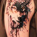 tatuajes lobos hombro brazos 2 150x150
