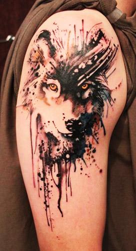 tatuajes lobos hombro brazos 2 - tatuajes de lobos