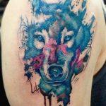tatuajes lobos hombro brazos 4 150x150