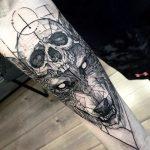 tatuajes lobos para hombres 2 150x150
