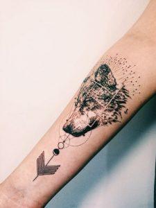 tatuajes lobos para hombres 3 225x300
