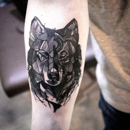 tatuajes de lobos