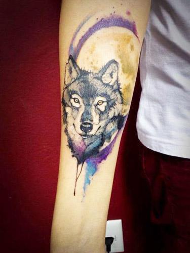 tatuajes lobos para hombres 5 - tatuajes de lobos