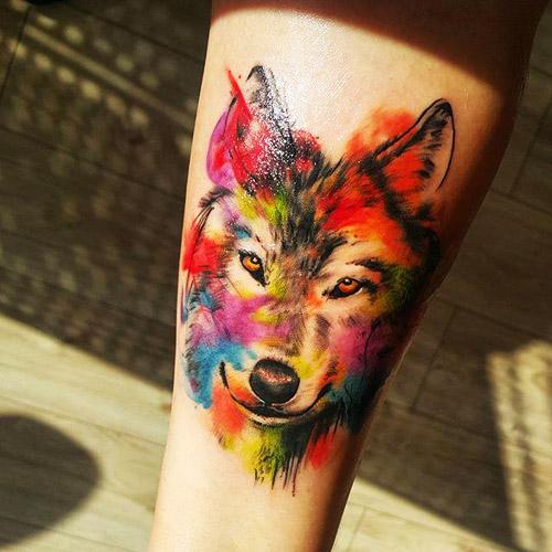 tatuajes lobos para mujeres 2 - tatuajes de lobos