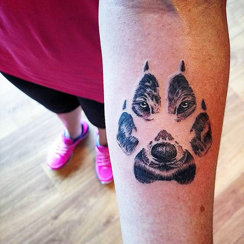 tatuajes lobos para mujeres 4 - tatuajes de lobos