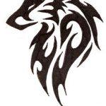 tatuajes lobos tribal 3 150x150