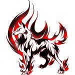 tatuajes lobos tribal 4 150x150