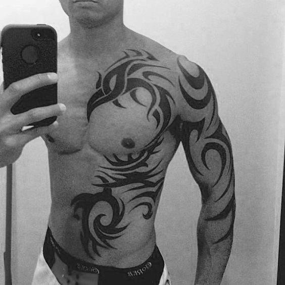 tribales tatuajes hombres originales 4