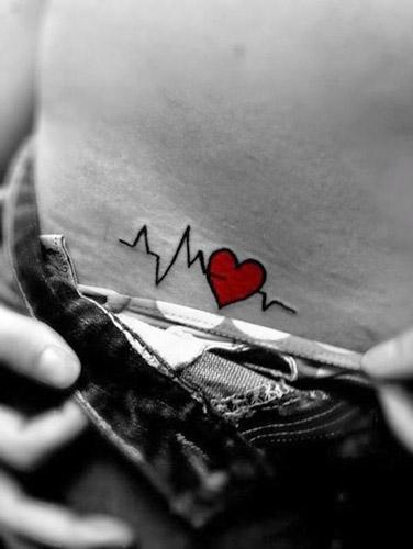 corazones tattoo para mujeres 6 - tatuajes de corazones
