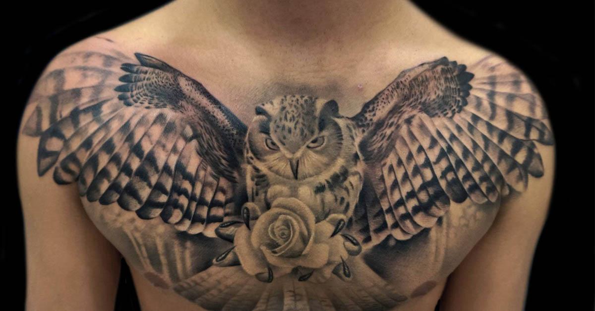 portada tatuajes lechuza buho
