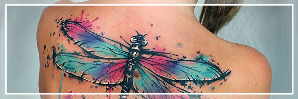 tattoo brush acuarela