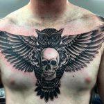 tattoo calaveras buhos calaveras 3 150x150