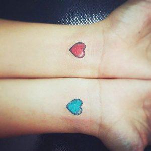 tattoo chicos chiquitos corazones 5 300x300