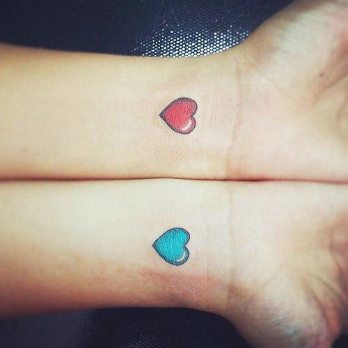 tattoo chicos chiquitos corazones 5 - tatuajes de corazones