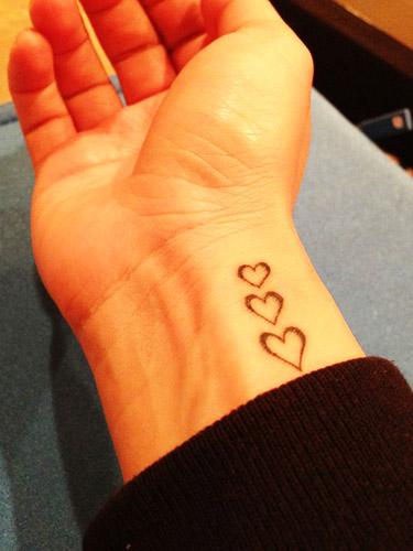 tattoo corazones 7
