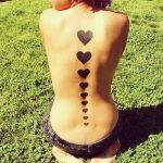 tattoo corazones negros 5 150x150