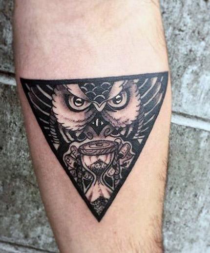 tattoo lechuza buhos brazos 1 - tatuajes de búhos