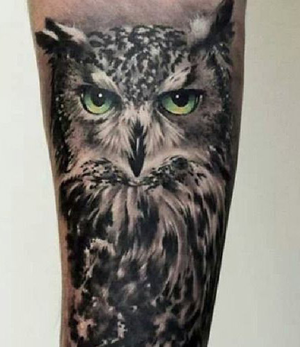 tattoo lechuza buhos brazos 5 - tatuajes de búhos