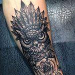 tattoo lechuza buhos brazos 7 150x150
