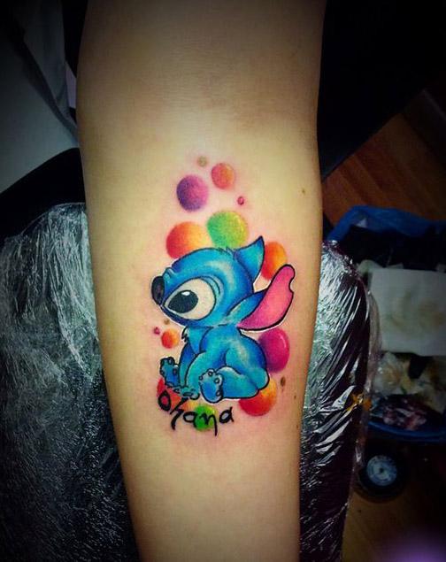 tattoo lilo stitch ohana 5