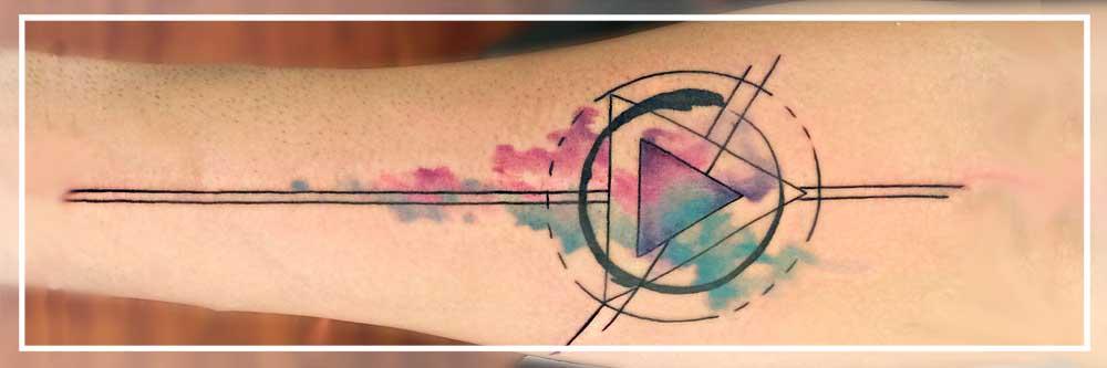tattoo ornamental geometrico abstracto