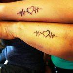 tattoo parejas corazones 1 150x150