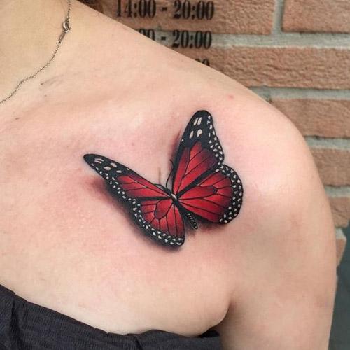 tatu para mujeres 3D realistas 1