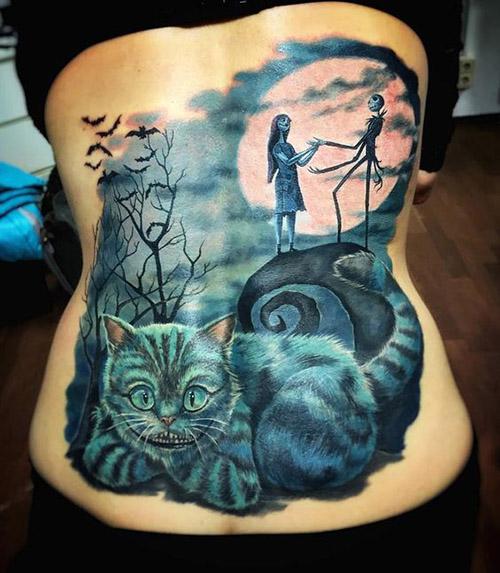 tatu para mujeres 3D realistas 4