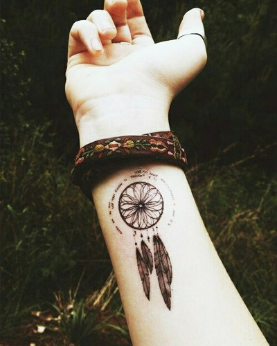 tatuajes atrapasueños muñeca 4