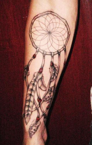tatuajes atrapasueños para hombres 6