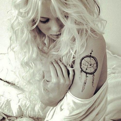 tatuajes atrapasueños para mujeres 1