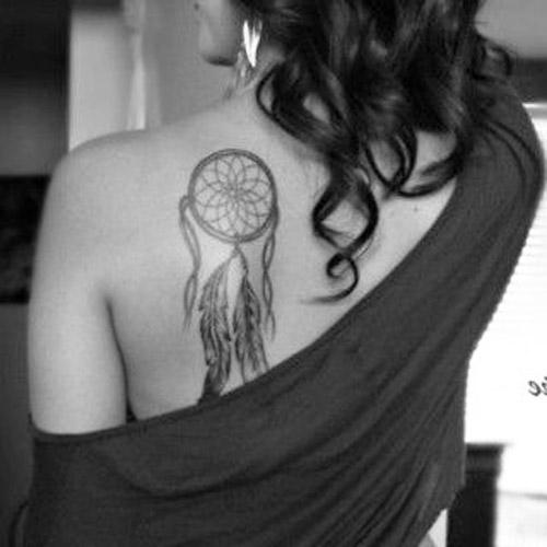 tatuajes atrapasueños para mujeres 3