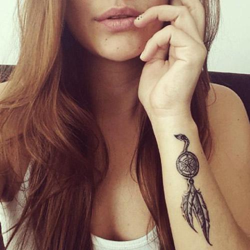 tatuajes atrapasueños para mujeres 5