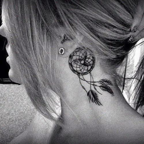 tatuajes atrapasueños para mujeres 6