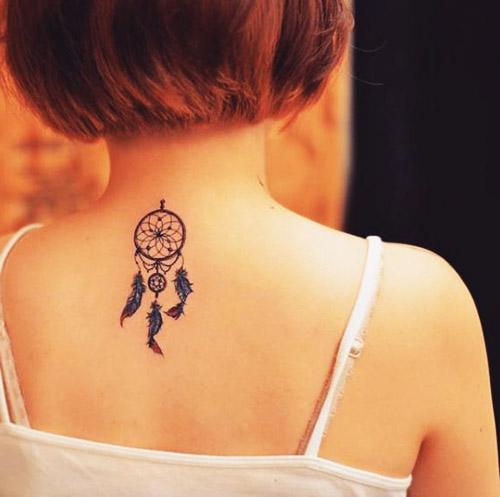 tatuajes atrapasueños para mujeres 8