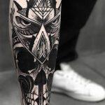tatuajes buhos lechuzas hombre brazo tattoo 1 150x150
