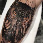 tatuajes buhos lechuzas hombre brazo tattoo 2 150x150