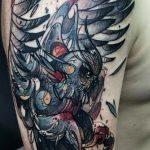 tatuajes buhos lechuzas hombre brazo tattoo 6 150x150