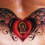 tatuajes corazones alas 5 150x150