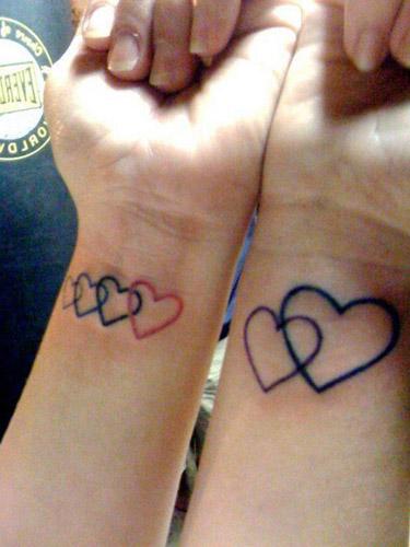 tatuajes corazones muñeca 5 - tatuajes de corazones