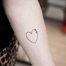 85 Tatuajes de Corazones originales y sus significados Tatuajes