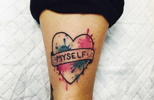 tatuajes corazones nombres iniciales frases 6 - tatuajes de corazones