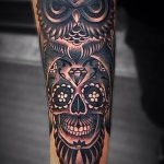 tatuajes cuhos lechuzas catrinas 3 150x150