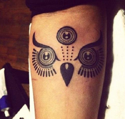 tatuajes de buhos tribales 2