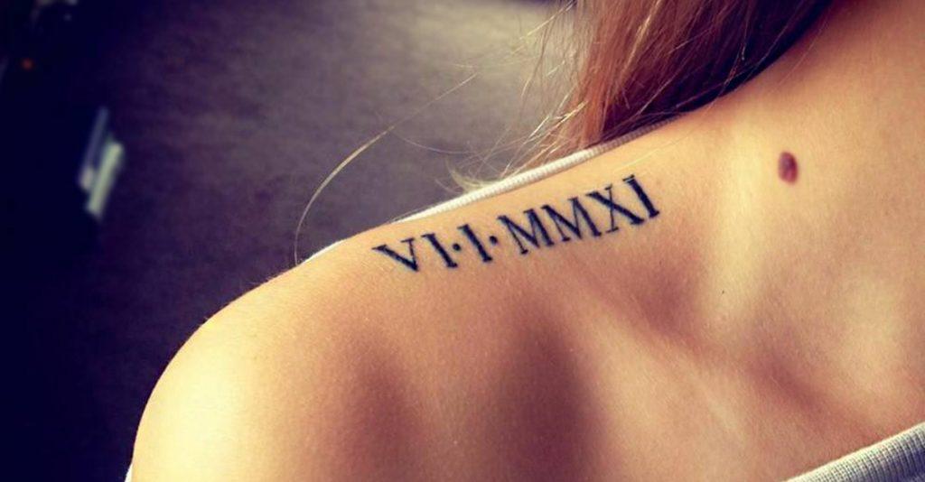 Tatuajes de Números Romanos: Origen, ideas y Significado ⋆ ▷TOP
