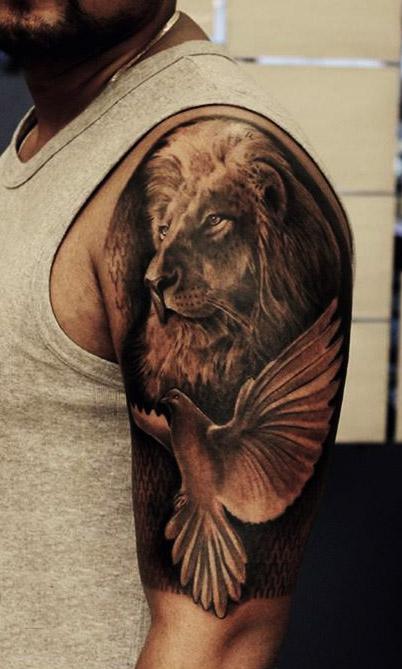 tatuajes palomas para hombres 4 - tatuajes de palomas